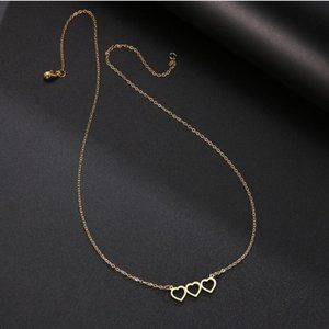 Gold Tone Dainty Necklace